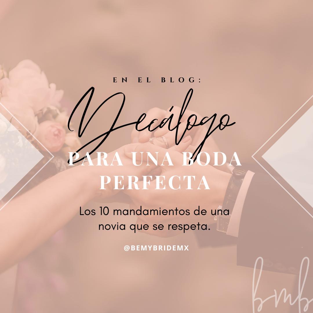 Agenda de novia 2020