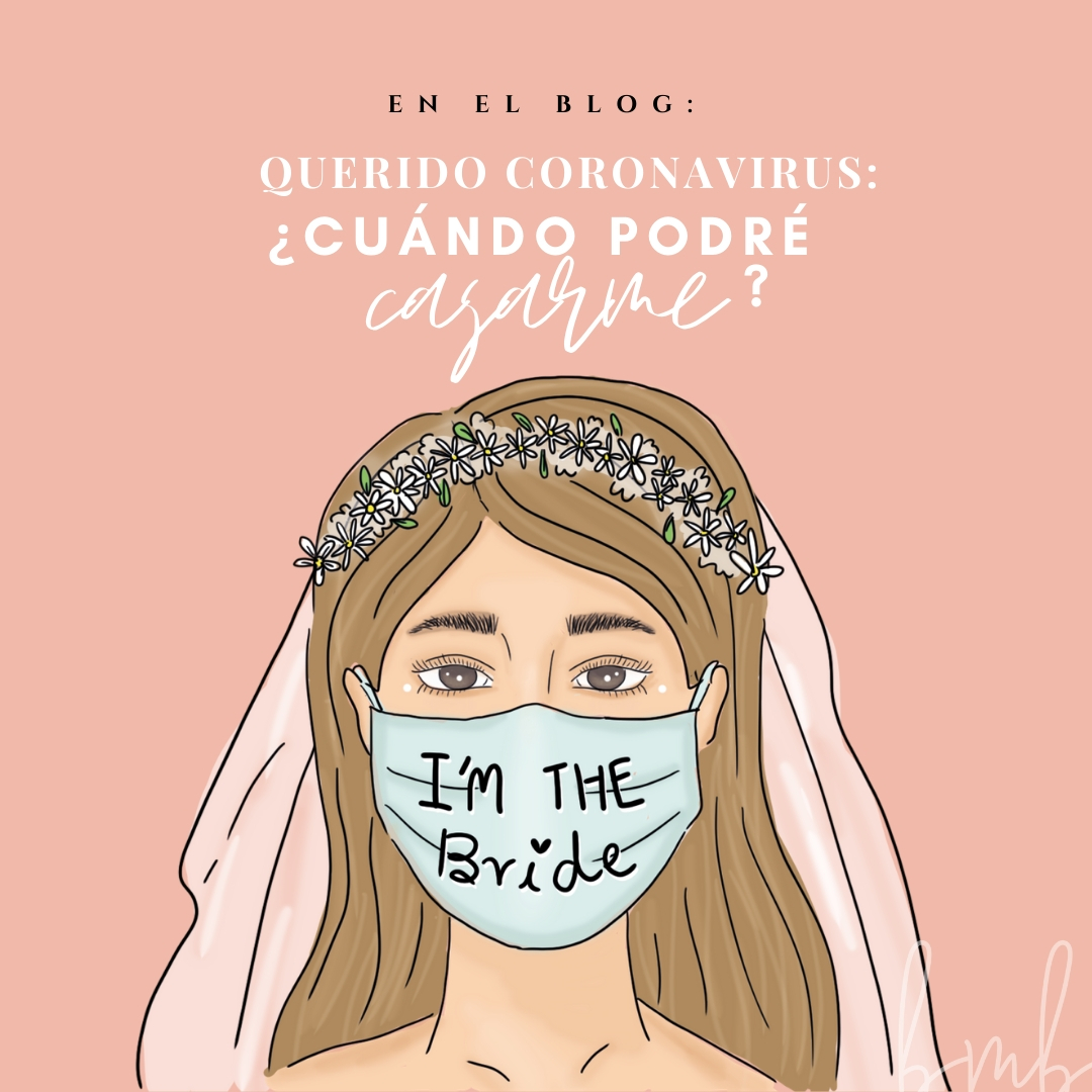 coronavirus cuándo podré casarme Novia Agenda Bride to be Bride Wedding Bridal planner Dear bride to be Boda