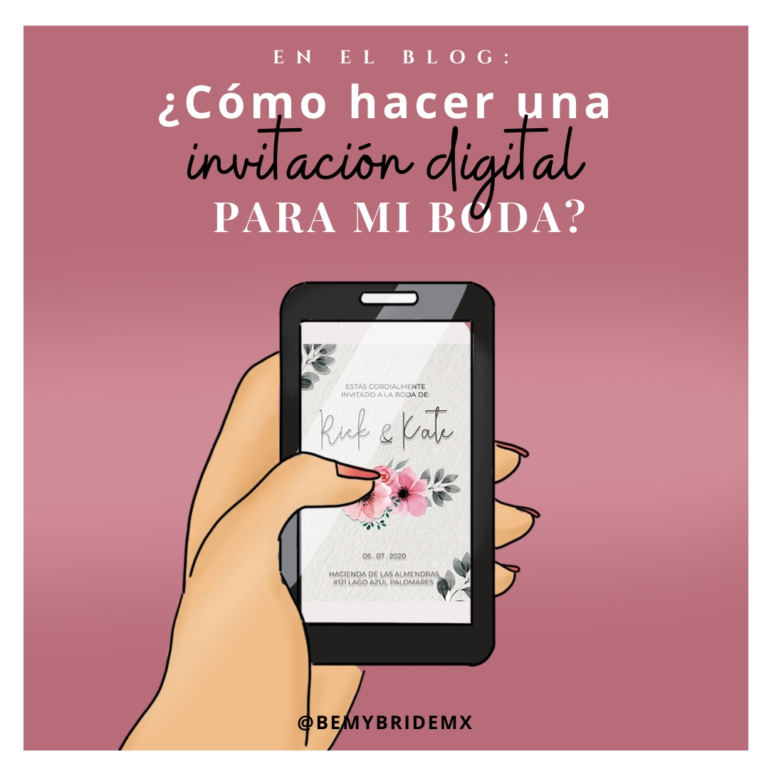 invitación digital para boda dear bride to be