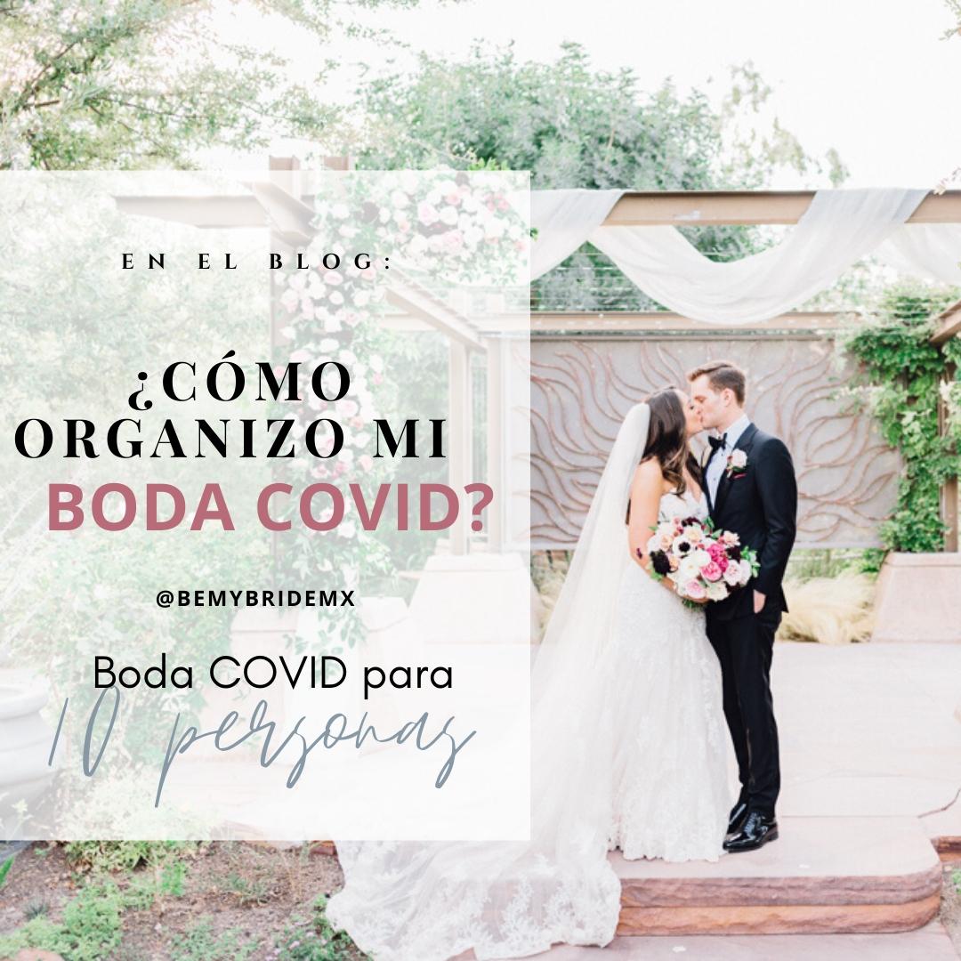 Cómo organizo mi boda Covid