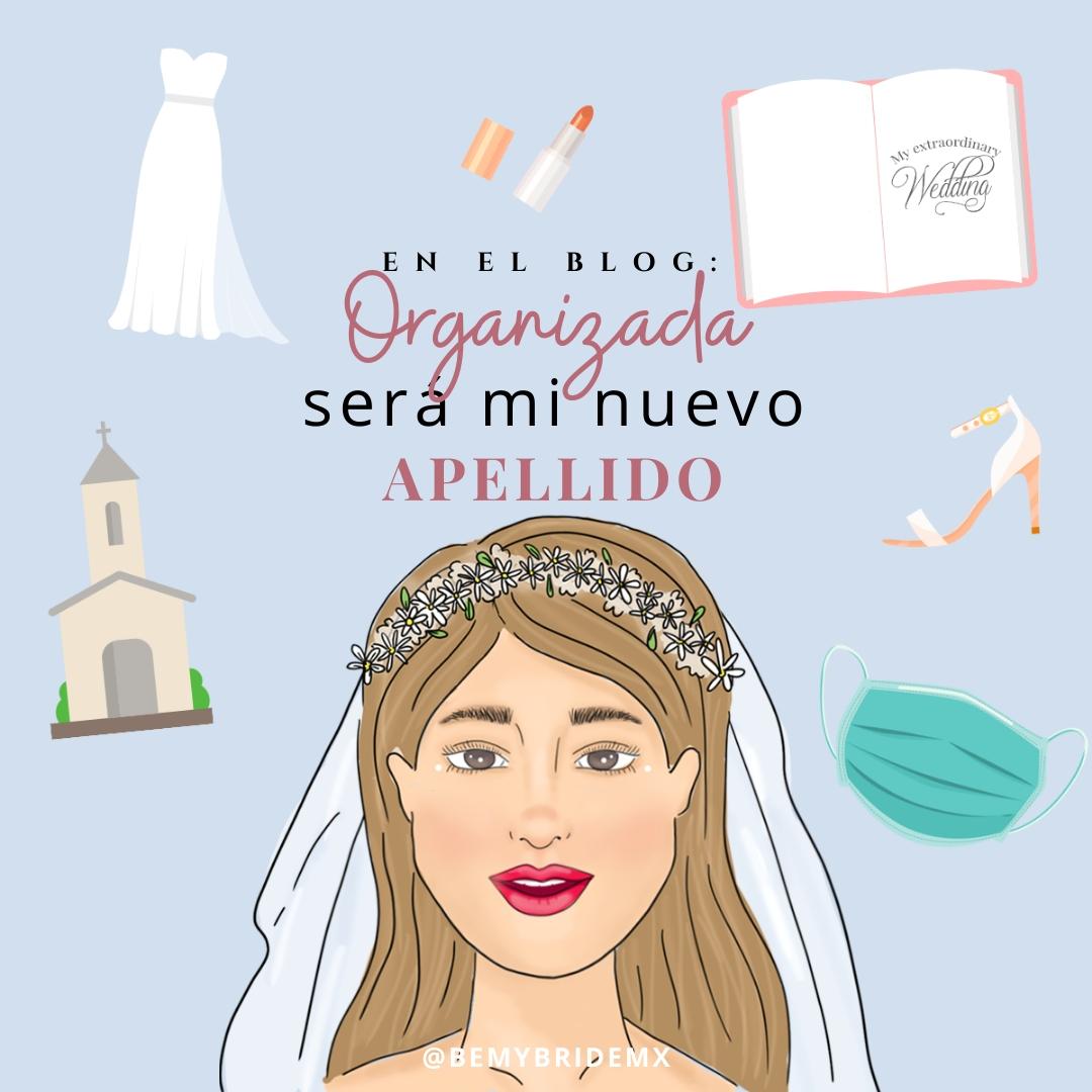 agenda de novia 2020 organización bodas