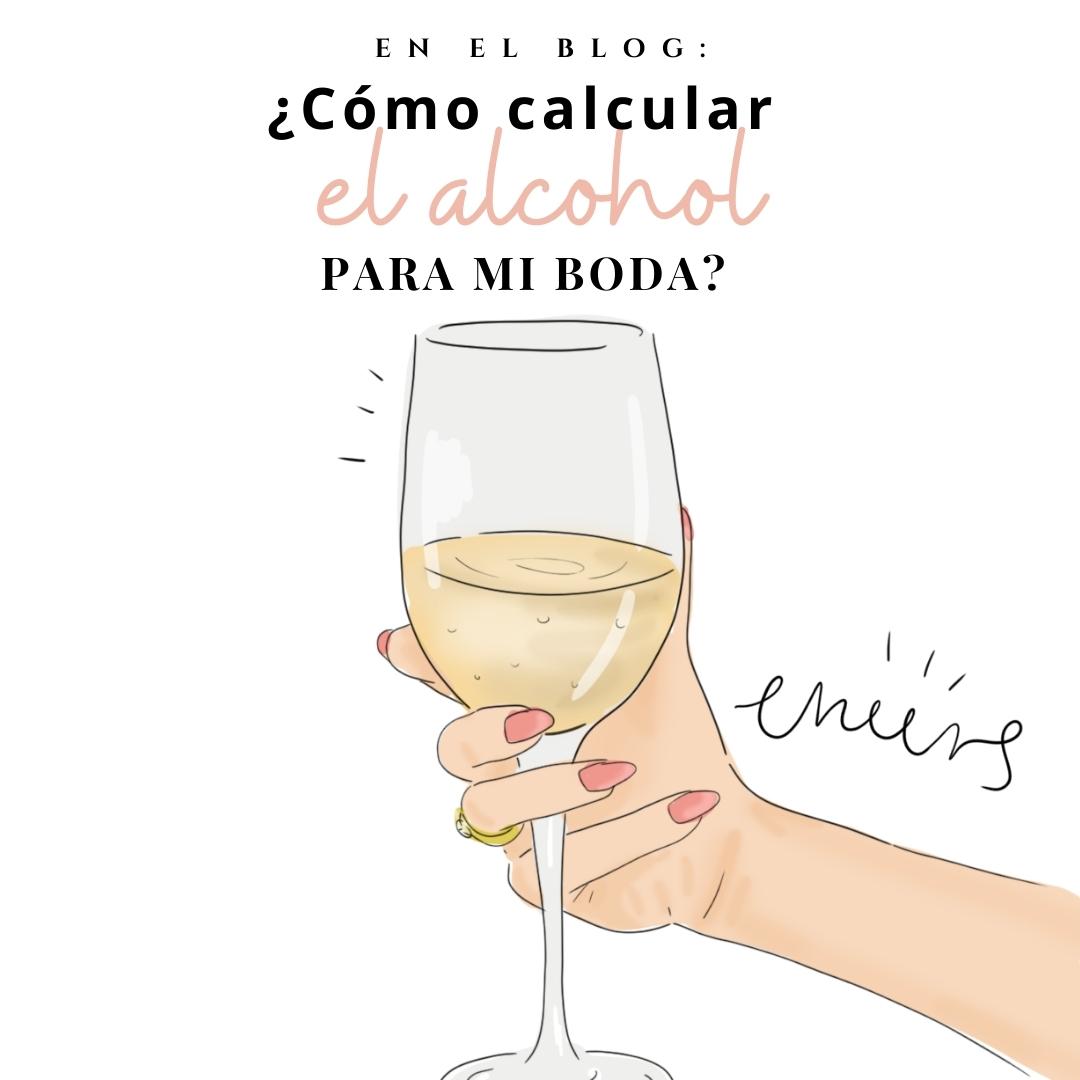 cómo calcular el alcohol en mi boda